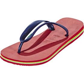 havaianas Brasil Logo Sandals Men red